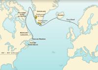 Les routes de l'Atlantique Nord avant Christophe Colomb