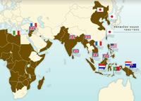 De rapides décolonisations à partir de 1945