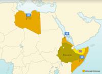 L'indépendance des colonies italiennes d'Afrique