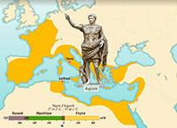 De la naissance à la chute de l'empire romain