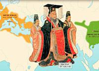 Entre Rome et l'Empire des Han la route de la soie