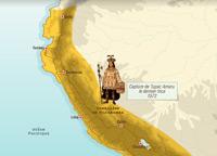La conquête de l'Empire inca