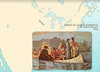 L'exploration du Mississippi et la fondation de la Louisiane