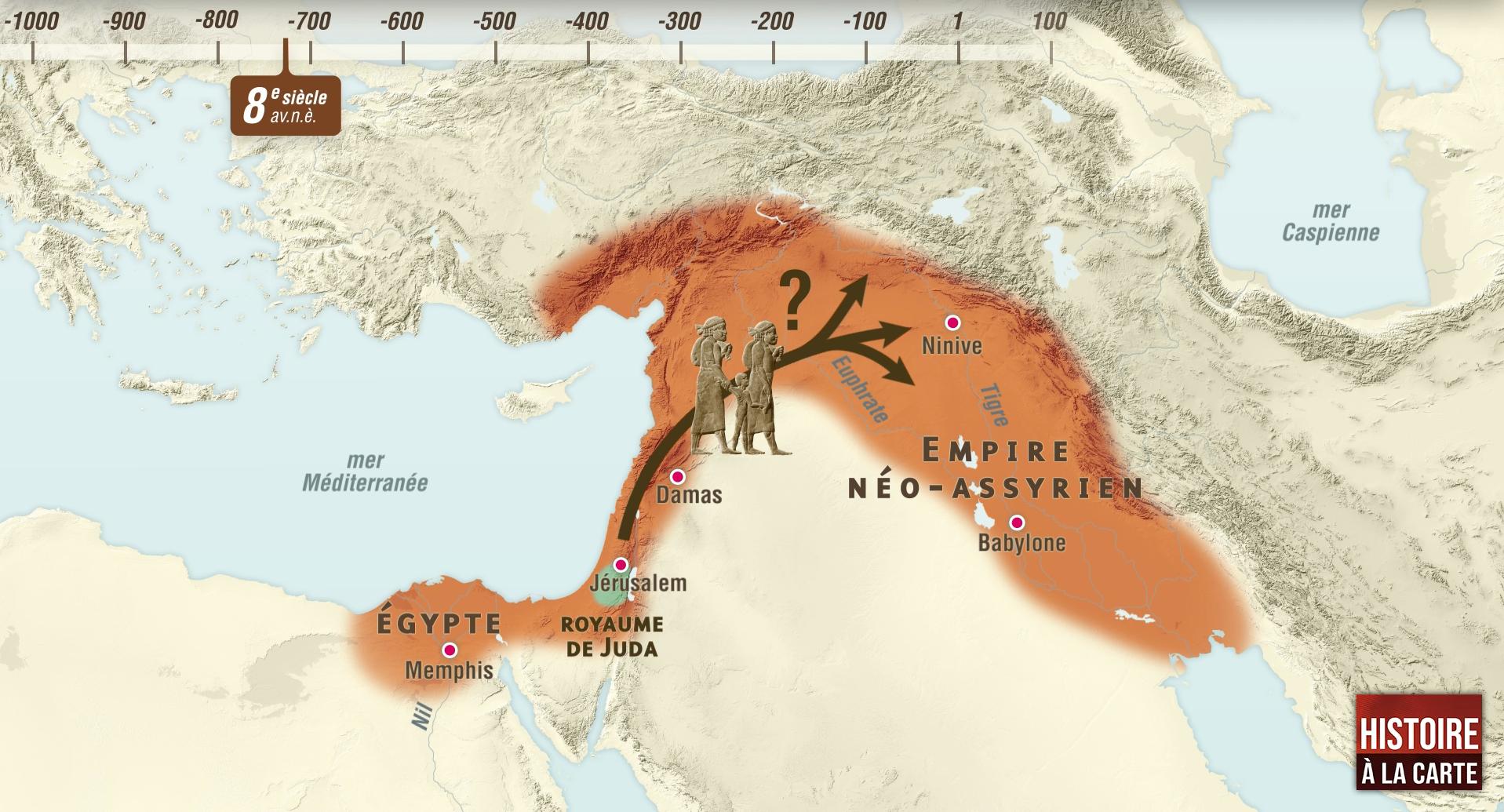 L'histoire des Hébreux et la diaspora