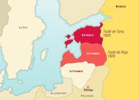 L'indépendance des pays Baltes