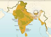 L'empire britannique des Indes