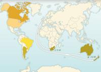 Emigration européenne dans le monde