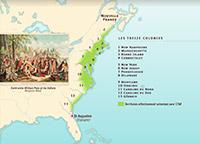 La fondation des 13 colonies américaines