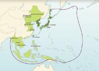 L'Asie Japonaise en 1942