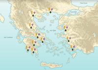 Grèce: l'espace physique